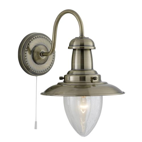 Traditional one arm wall lights the lighting superstore fisherman wall light aloadofball Images