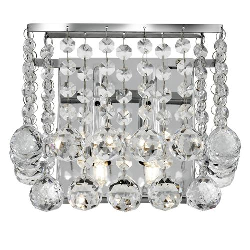 Hanna Crystal Wall Lights : Hanna Crystal Wall Light 5402-2Cc The Lighting Superstore