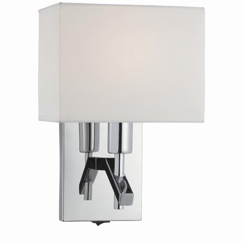 Chrome Switched Single Wall Light 5903CC