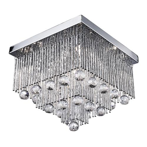 Beatrix Crystal Flush Ceiling Light 6055-5CC