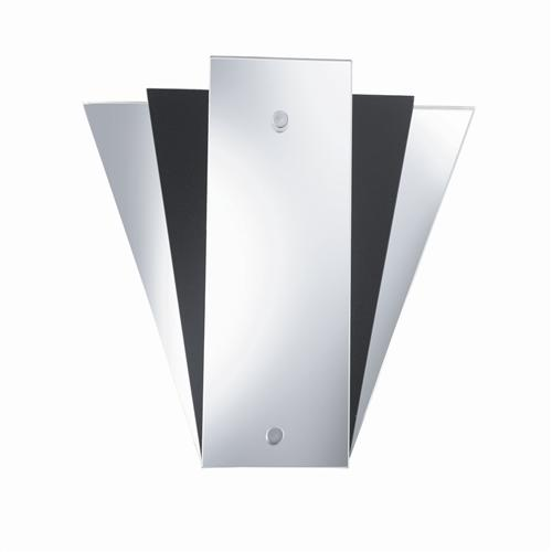 Modern Mirror Single Wall Light 6201Bk