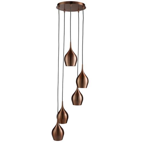 6465 5cu vibrant 5 light multi drop pendant the lighting. Black Bedroom Furniture Sets. Home Design Ideas