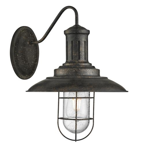 6503BG Fisherman Caged Single Wall Light