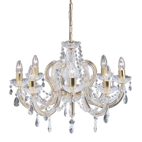 Marie Therese 8 Light Crystal Fitting 699-8