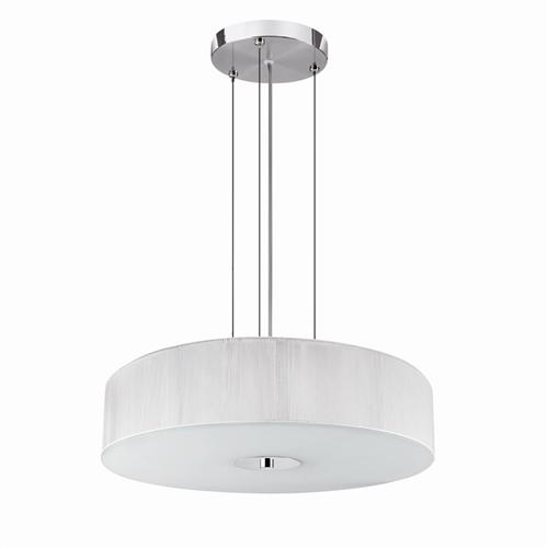 White Pendant Ceiling Fitting 7156Wh