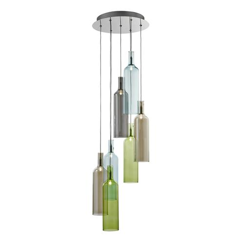 Vibrant 7 Light Pendant 7257-7