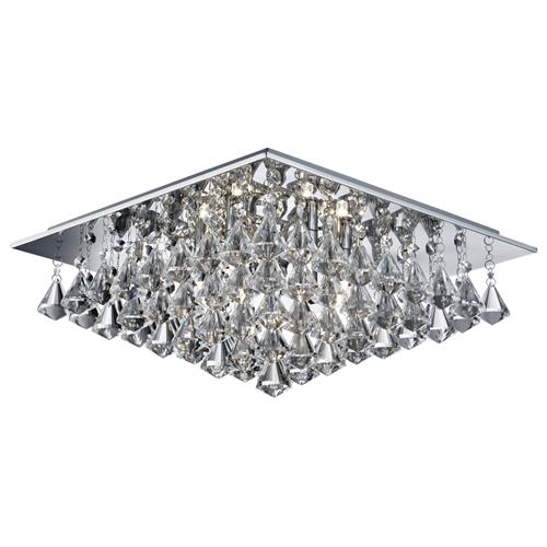 Hanna square crystal ceiling light 7306 6cc the lighting superstore hanna square crystal ceiling light 7306 6cc aloadofball Images