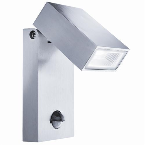 Stainless Steel LED Outdoor Wall Light With Motion Sensor 7585