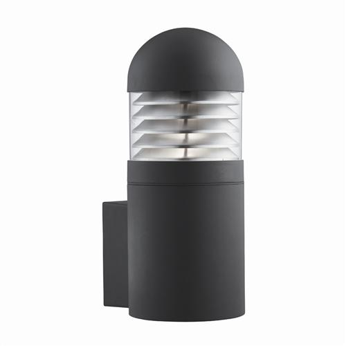 Black Low Energy Outdoor Wall Light 7899Bk
