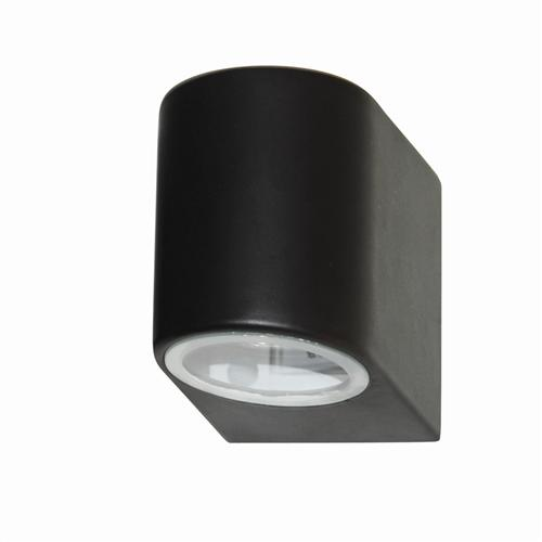 Outdoor Wall Light 8008-1Bk-Led