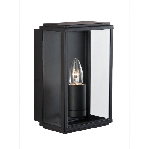 Rectangular Outdoor Wall Light 8204Bk