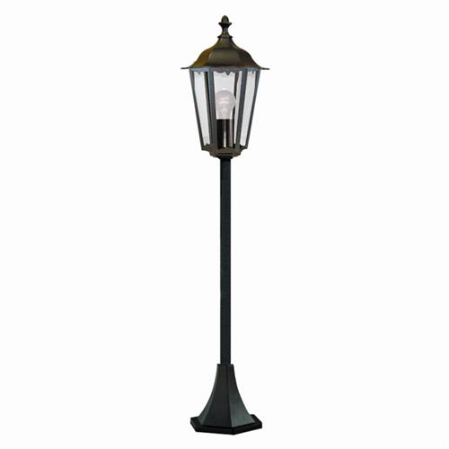 Alex Outdoor Post Light 82504Bk