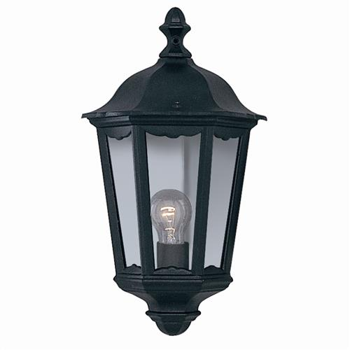 Alex Outdoor Wall Light 82505Bk