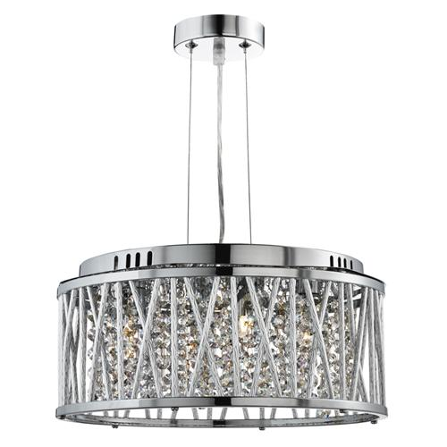 Elise Crystal Rod Ceiling Light 8334-4Cc