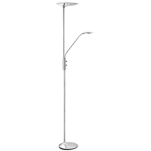 LED Chrome Mother and Child Floor Lamp 8622CC