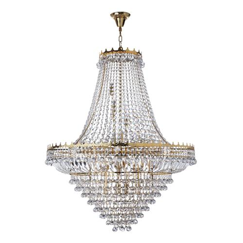 Versailles Gold Crystal Pendant Light 9112-102GO