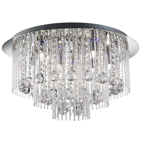 Colour changing LED crystal chandelier | Led crystal