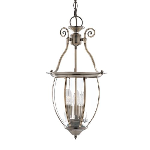 Antique Brass Lantern 9501-3Ab
