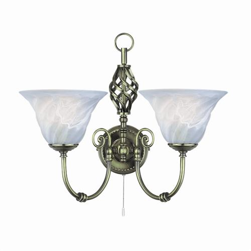 Cameroon Double Wall Light 972-2