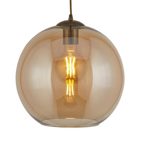 Balls Antique Brass Pendant Light 1635AM