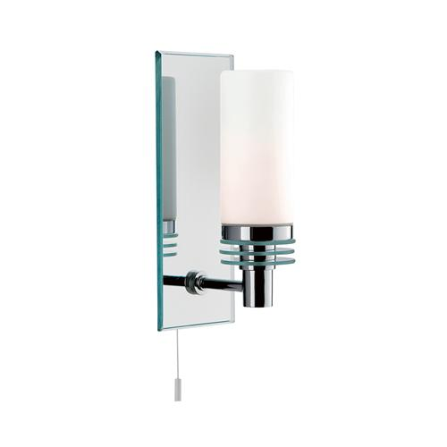 Bathroom LED IP44 Polished Chrome/Mirrored Wall Light 5611-1Cc-Led