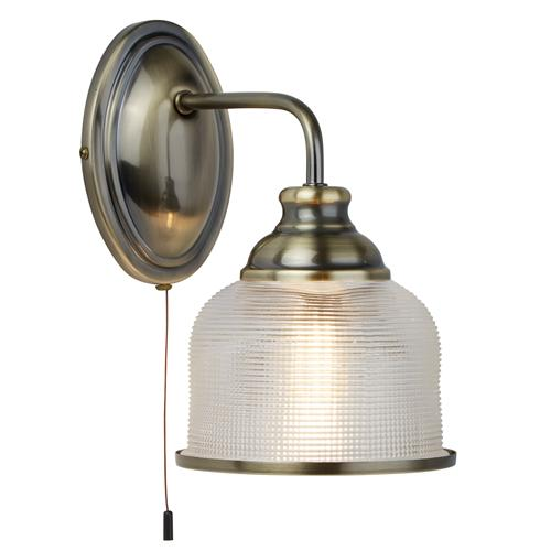 Bistro LED Antique Brass Single Wall light 2671-1AB