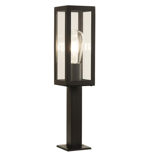 Box LED Black Rectangular Outdoor Post Light 6441-450BK