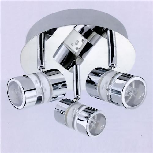 Bubbles LED Triple Spotlight 4413Cc