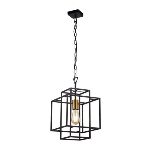 Crate Black Ceiling Pendant 4631BK