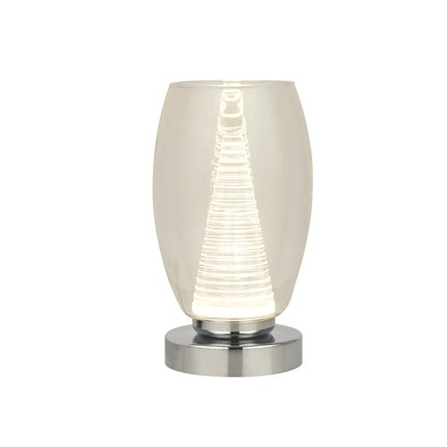 Cyclone LED Clear Glass Table Lamp 97293-1CL