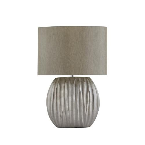 Danby Silver Finished Table Lamp With Shade 5027SI