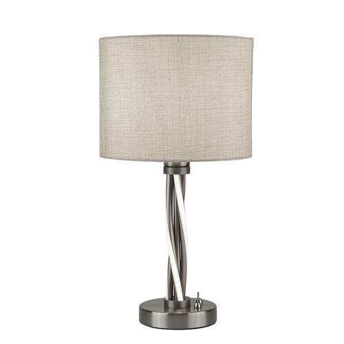 Dannie LED Satin Silver Table Lamp 7564SS