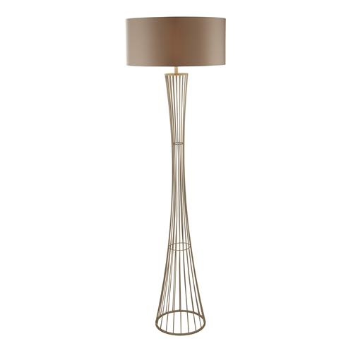 Dannyn Champagne Coloured Floor Lamp 2011CP