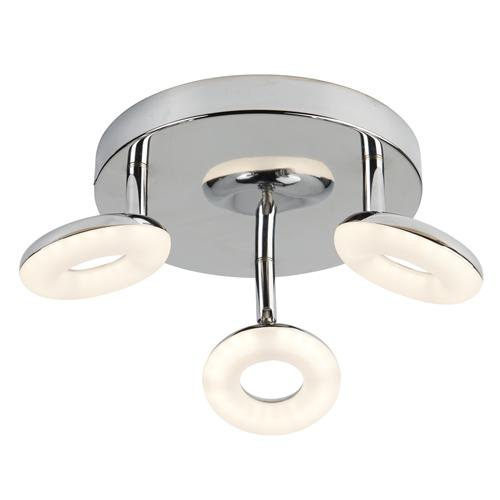 Donut led round three spot directional ceiling light the lighting donut led round three spot directional ceiling light 8903cc aloadofball Gallery