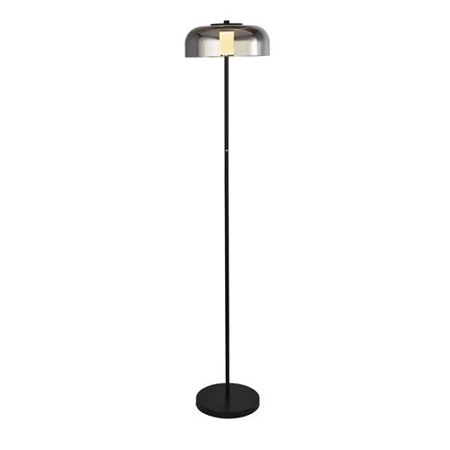 Paxton LED Black Floor Lamp 02598-1SM