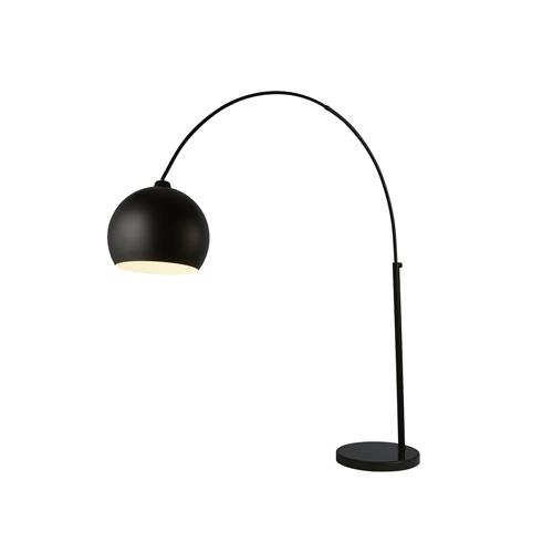 Giant Arc Matt Black Arc Floor Lamp 11980BK