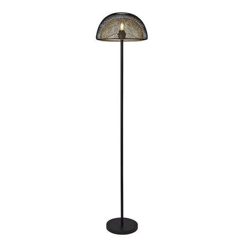 York Black & Gold Floor Lamp 4968BGO