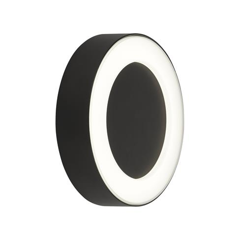 Layla LED Black Outdoor IP44 Rated Wall Light 2841BK