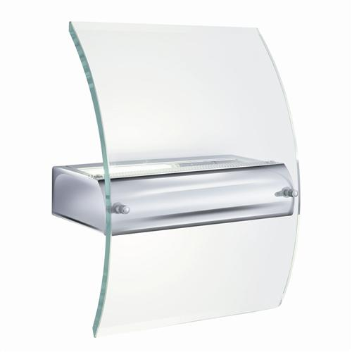 Modern Wall Lights Chrome : Modern Chrome Wall Light Le4115 The Lighting Superstore