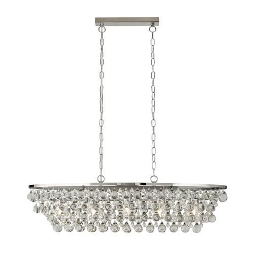 Michelle Chrome Ceiling Pendant 9635-5CC