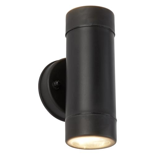 Outdoor LED Black Dual Exterior Wall Light 7592-2BK