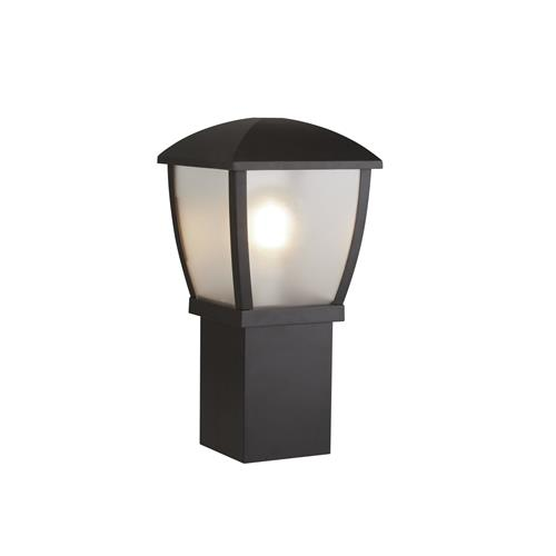 Seattle Black Outdoor Post Light 450mm Height 9165-450