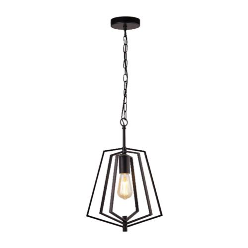 Slinky Single Pendant Black Pendant 7971BK
