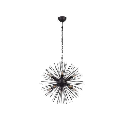 Sputnik Ten Light Black Ceiling Pendant 6310-10BK