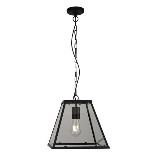Voyager Matt Black Pendant Light 4661BK
