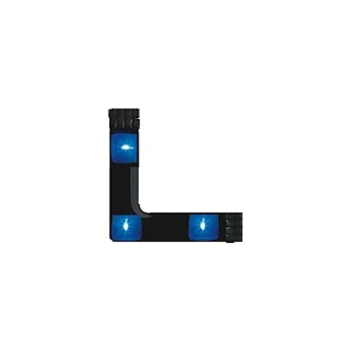 Blue 90° LED Angle Strip System 4207