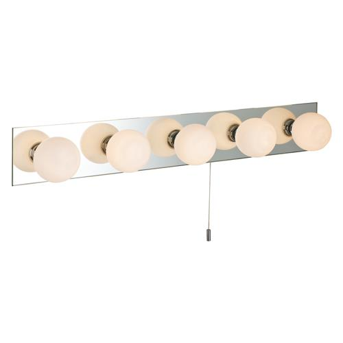 Caroline Switched Bathroom Mirrored Wall Light 0641-20