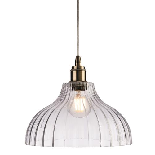Cathryn Pressed Glass Ceiling Pendant 8764-20