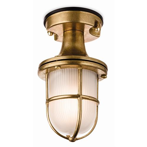 Cloey Solid Brass Outdoor Porch Light 9372-20Br