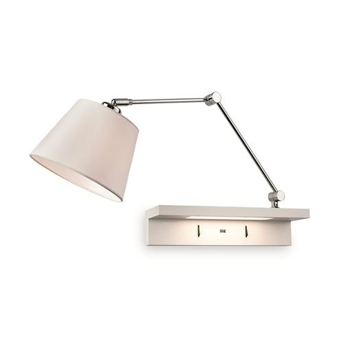 Cornelia Double Lamp LED Shelf Light 7765-20